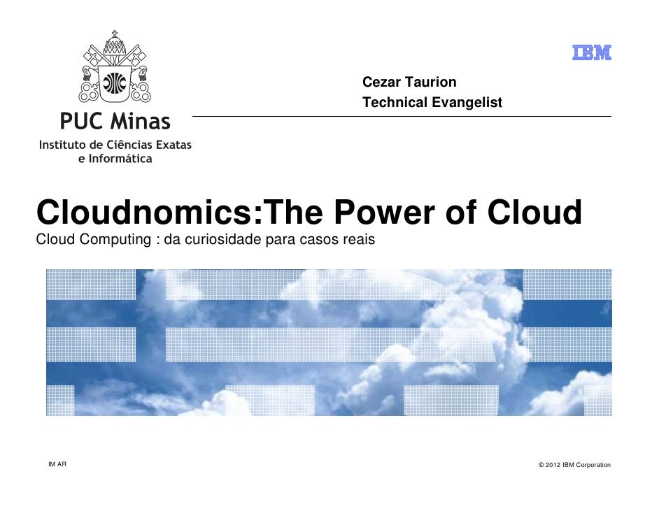 Cloud Computing: da curiosidade para casos reais