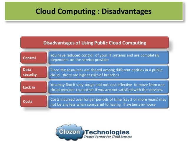 Ubiquitous Computing Disadvantages Computing Disadvantages