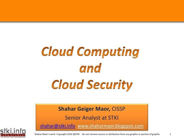 Cloud security v2