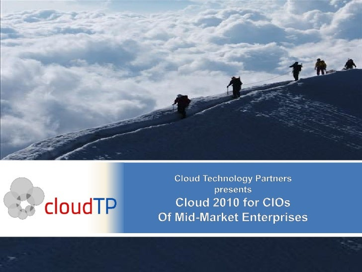 Cloud Seminar Feb 4 2010
