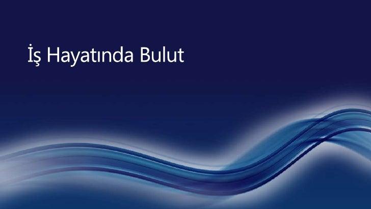 Cloud services customer ready sales deck  april türkçe