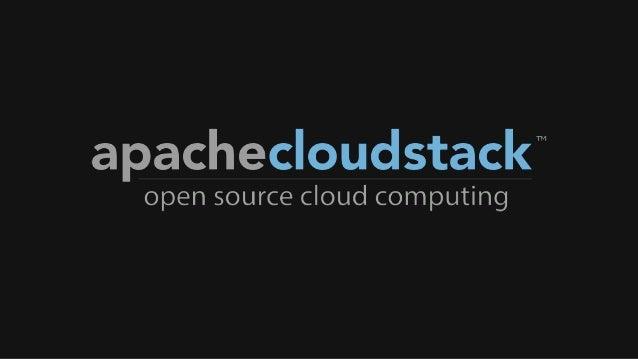 CloudStack Collab 2013 Keynote