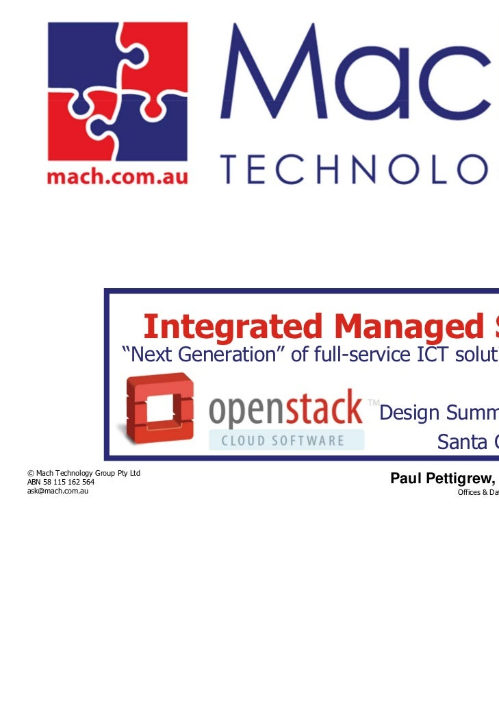 """Integrated Managed Services                          """"Next Generation"""" of full-service ICT solution outsourcing           ..."""