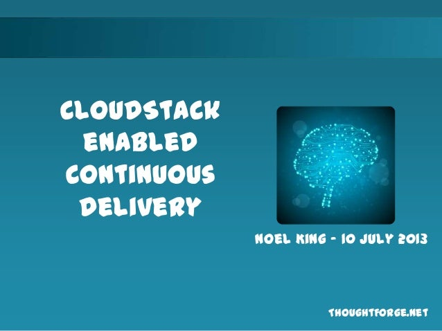 Cloudstack Continuous Delivery