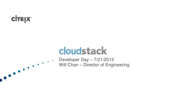 CloudStack-Developer-Day
