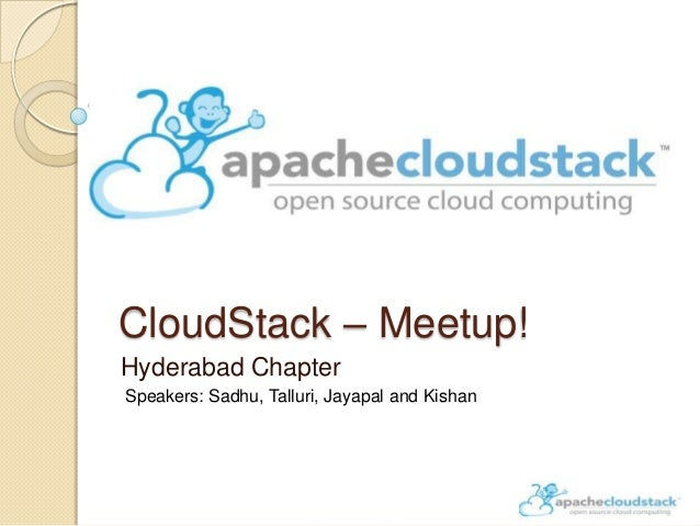 Apache CloudStack Hyderabad meetup-April 2014