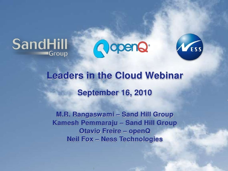 Cloud webinar final