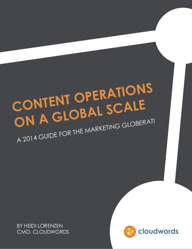 Content Operations on a Global Scale