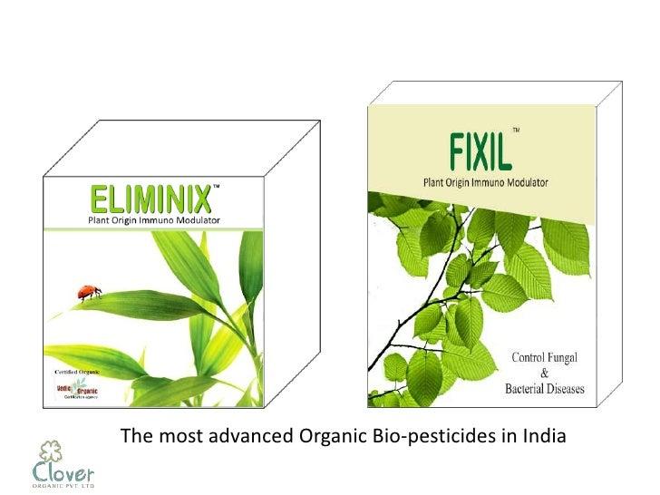 The most advanced Organic Bio-pesticides in India