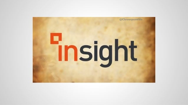 Insight from CloverPoint - 3D Asset and Facilities Management