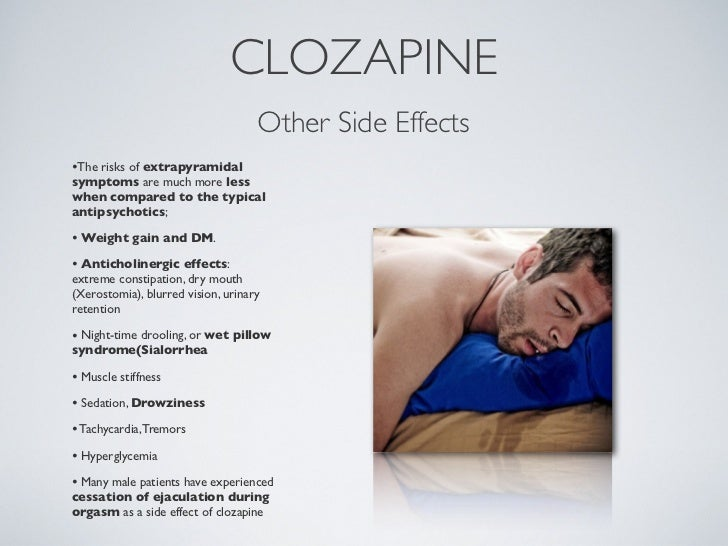 Clozaril Side Effects Seizures