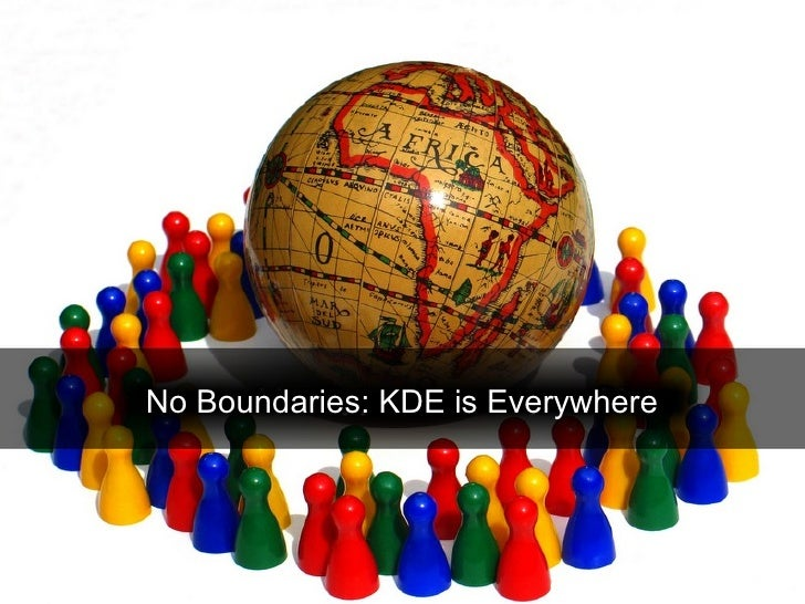 No Boundaries: KDE is Everywhere