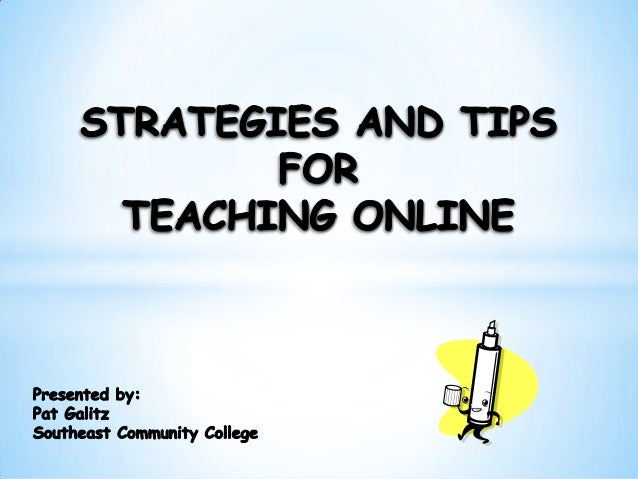 A one-hour webinar with Pat Galitz as she shares strategies and tips for teaching online discussion–based courses. You'll ...