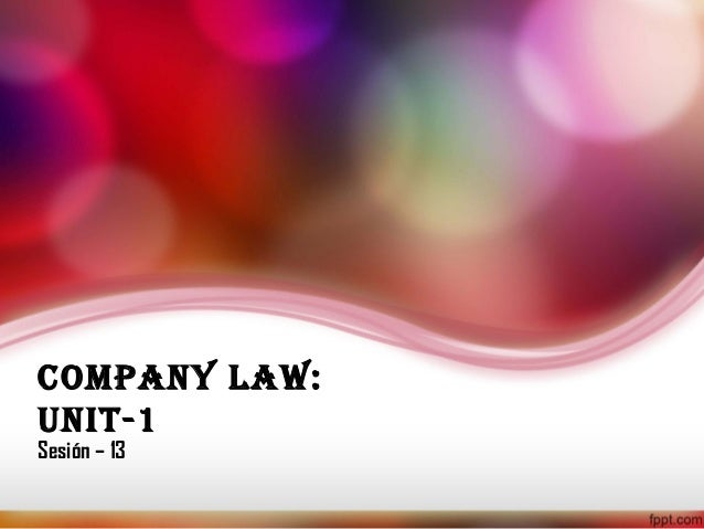 the legal concept of lifting the Doctrine of lifting of corporate veil • in the eyes of law, a company is a legal person with a separate entity distinct from its members of shareholders.