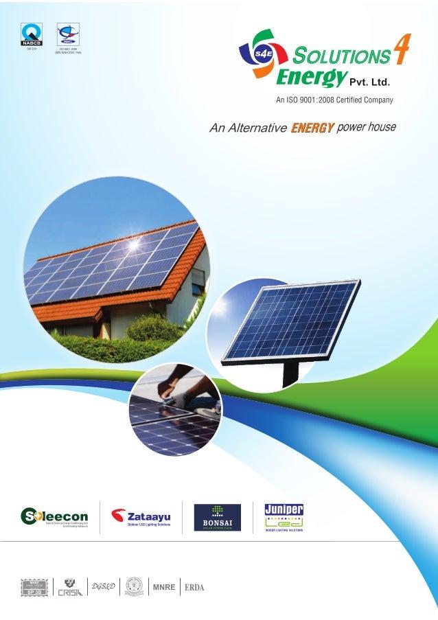 Solutions4Energy Pvt. Ltd, Gujarat, Solar Lighting System & Solar Panel