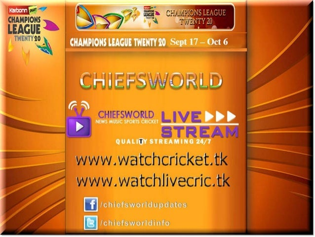 The Schedule has been announced for the Champions League T20 2013. The tournament will commence on September 17, 2013 in I...
