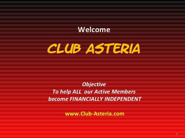 Club asteria presentation 1