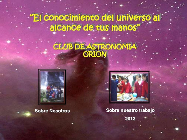 Clubastronomia2012
