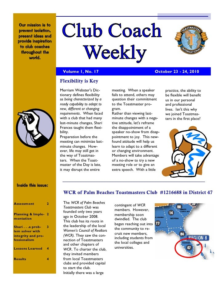 Club Coach Weekly Issue 17