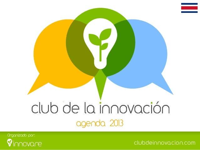 Club de la innovación Costa Rica  - brochure 2013