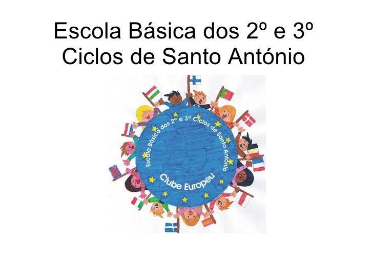 Clube Europeu ApresentaçãO Escola