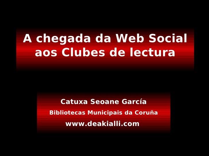 La Web Social en un Club De Lectura