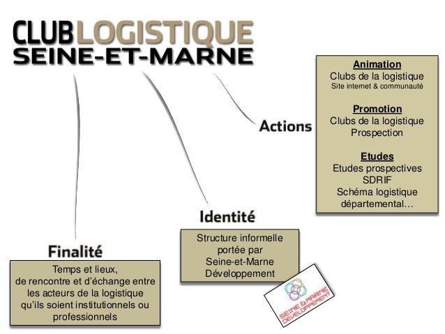 Temps et lieux, de rencontre et d'échange entre les acteurs de la logistique qu'ils soient institutionnels ou professionne...