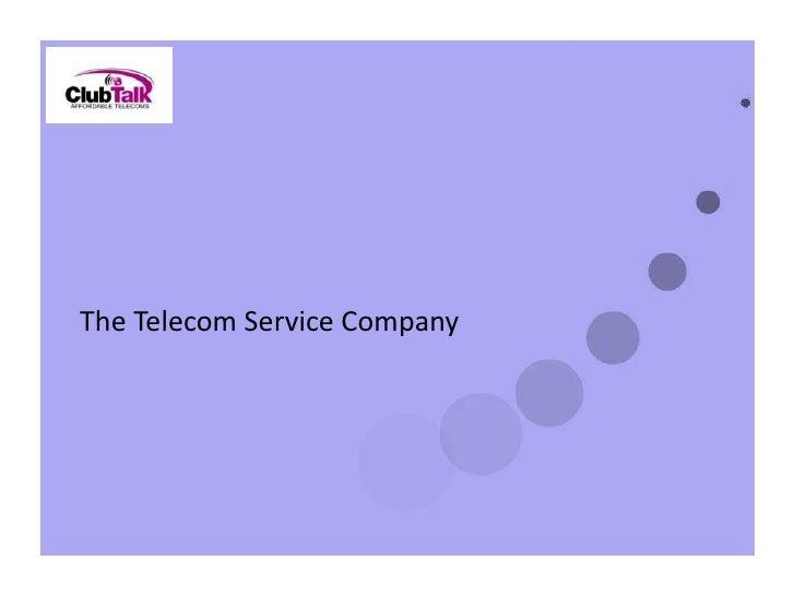 The Telecom Service Company <br />