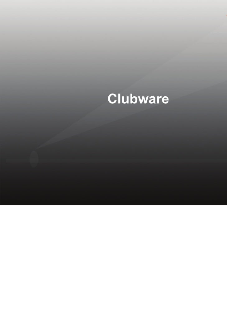 Softscript ClubWare Membership Syste,