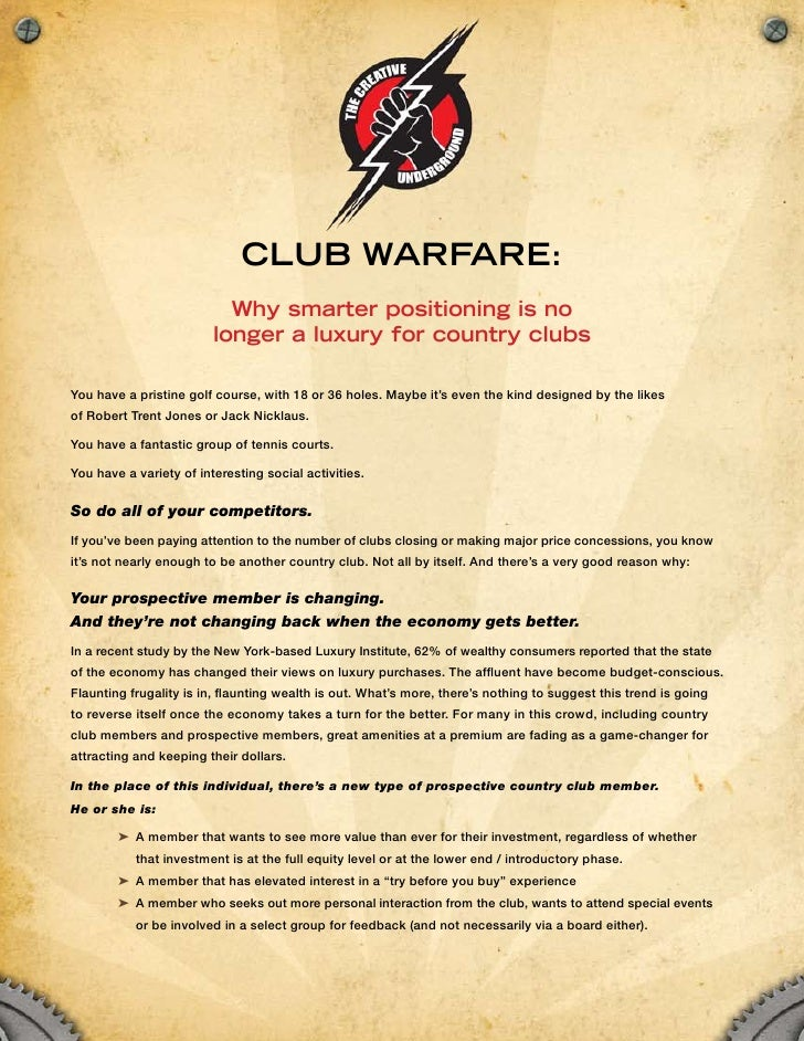 Club Warfare:                            Why smarter positioning is no                          longer a luxury for countr...