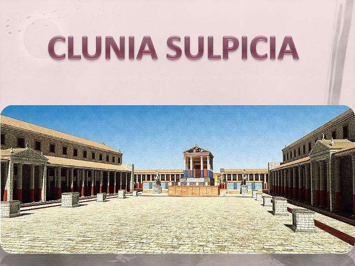 Clunia sulpicia