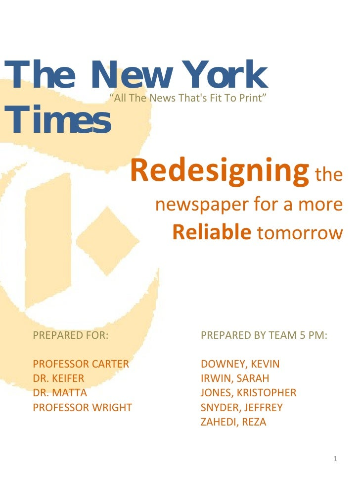 Cluster Project 2 report on Improving the New York Times