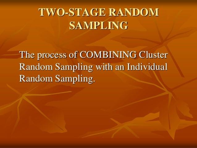 cluster sampling in research