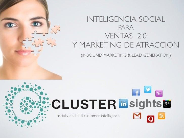 Cluster insights inbound sales & marketing
