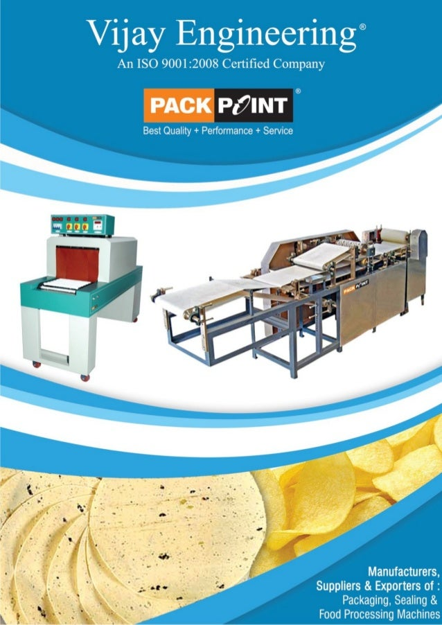 Vijay Engineering, Maharashtra, Processing Machines
