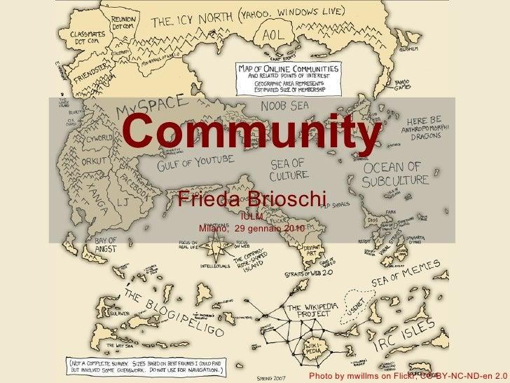 Frieda Brioschi - La Community di Wikipedia Italia