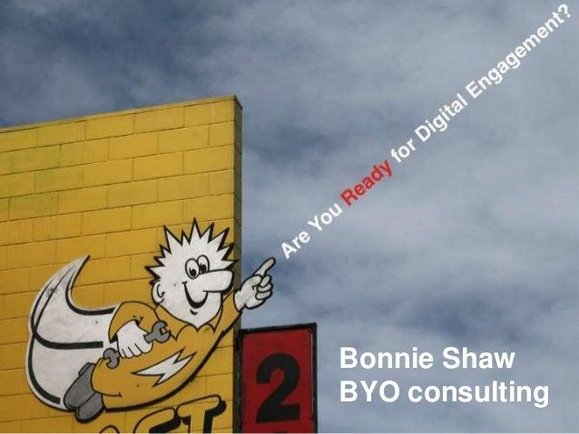 Bonnie Shaw BYO consulting