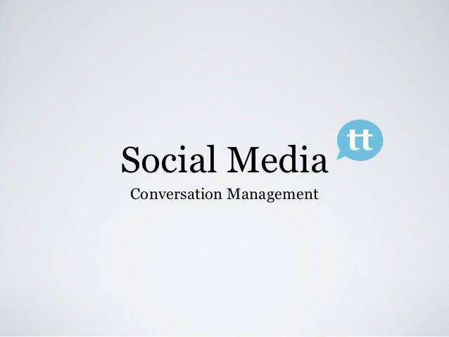 Conversation management VOKA