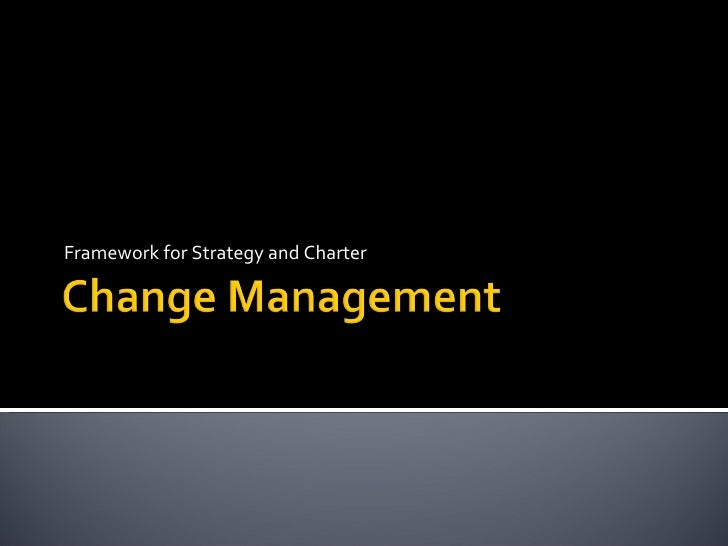 Change Management for Technology Projects 1