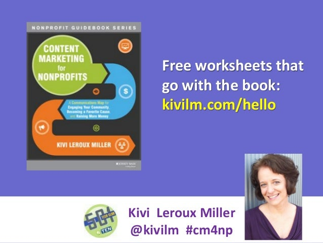 Free worksheets that go with the book: kivilm.com/hello  Kivi Leroux Miller @kivilm #cm4np