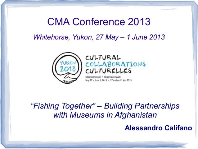 'Fishing Together'... Building Partnerships with Museums in Afghanistan