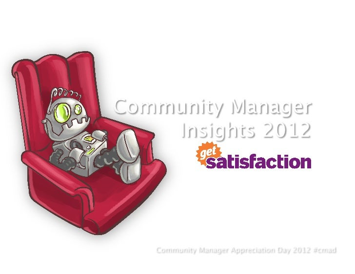 Community Manager Insights 2012