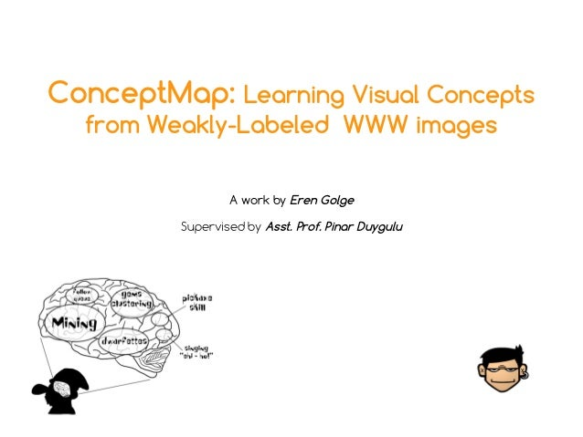 ConceptMap: Learning Visual Concepts from Weakly-Labeled WWW images A work by Eren Golge Supervised by Asst. Prof. Pinar D...