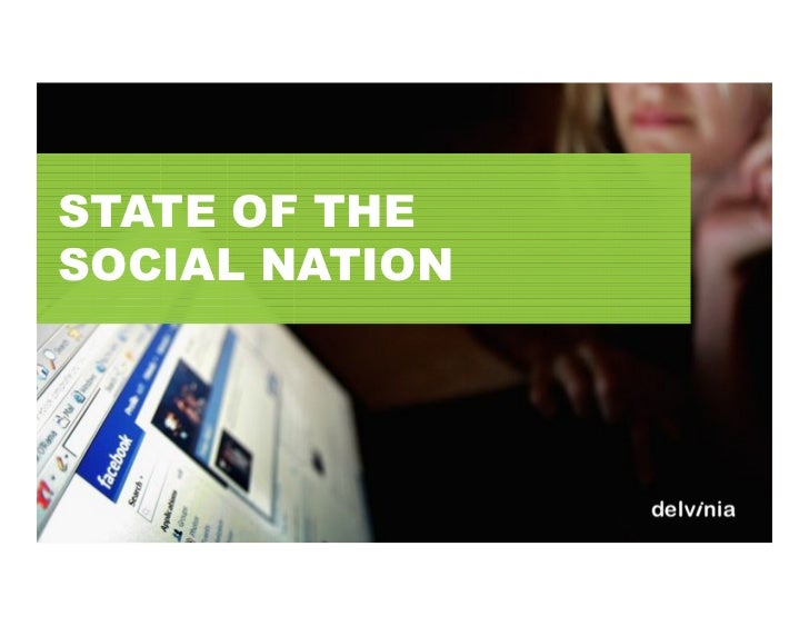 STATE OF THESOCIAL NATION