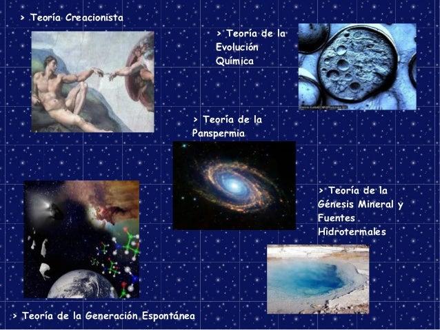 Teoria de Evolucion Quimica Evolución Química Teoría