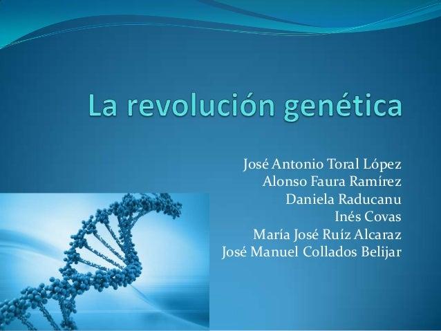 Revolución genética