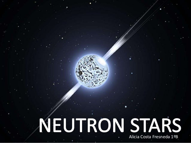 neutron stars and white dwarfs