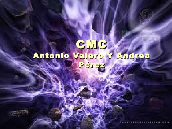 CMC Antonio Valero Y Andrea Pérez