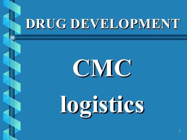 DRUG DEVELOPMENT <ul><li>CMC </li></ul><ul><li>logistics </li></ul>