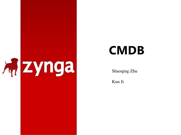 CMDB<br />Shaoqing Zhu<br />Kun Ji<br />